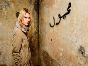 The CIA agent Carrie Mathison (Homeland)