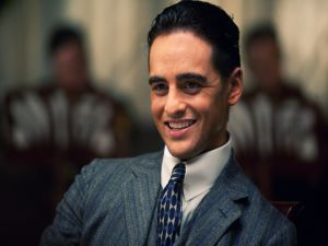 "Lucky Luciano, played by Vincent Piazza, in ""Boardwalk Empire"""