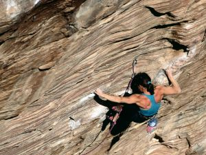 Muscle tension in climbing