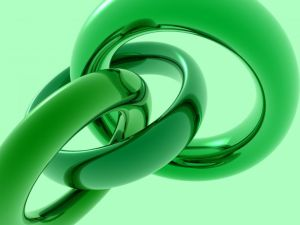 Green rings linked