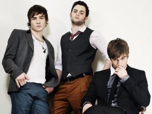 "The three boys of ""Gossip Girl"": Nate, Chuck and Dan"