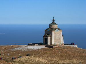 Small church near the sea