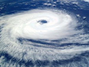 Cyclone Catarina, seen from the International Space Station