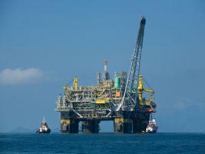 Oil platform in Brazilian waters