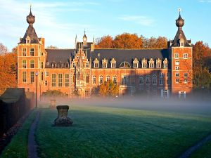 Arenberg Castle, part of the Catholic University of Leuven, Belgium