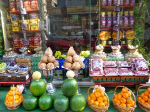 Fruit shop in Alexandria (Egypt)