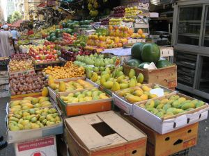 A fruit stall in Cairo, Egypt