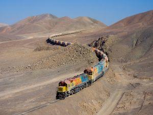 Railway from Antofagasta to Bolivia