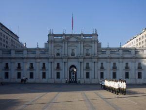 Parade at the Palacio de la Moneda, Santiago (Chile)
