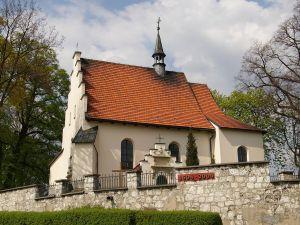 Church of Saint Giles in Giebultow, Poland