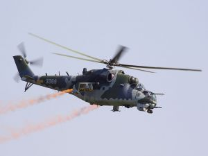 Mi-24, attack and troop transport helicopter