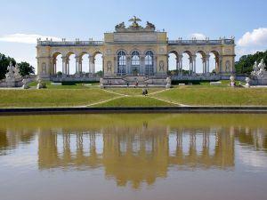 The Gloriette in Schönbrunn Palace, Vienna, Austria