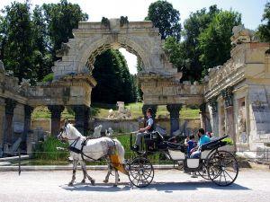 Roman Ruins in Schönbrunn Park, Vienna