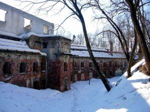 Fortification in ruins, Krakow