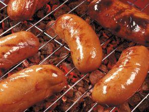 Grilled chorizos