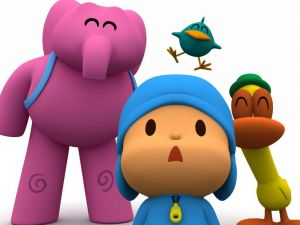 Pocoyo and his friends