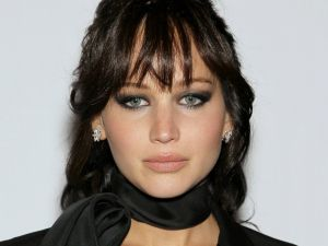 The actress Jennifer Lawrence