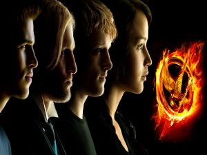 "Protagonists of ""The Hunger Games"""
