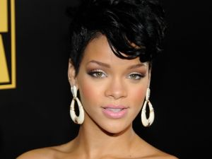 The beautiful singer Rihanna