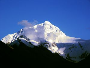 Clouds on Everest