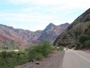 National Route 68 in Quebrada de las Conchas (Argentina)