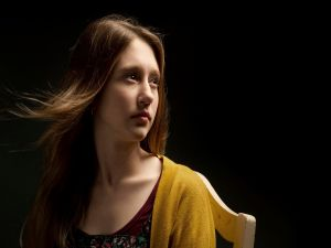 "Taissa Farmiga in the role of Violet, first season of ""American Horror Story"""