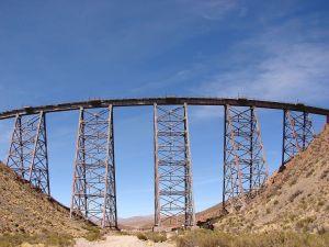 "Viaduct ""La polvorilla"" (Salta, Argentina)"