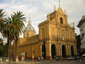 Temple of San Francisco, in Tucuman Capital (Argentina)