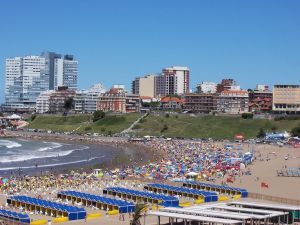 The city of Mar del Plata, Argentina