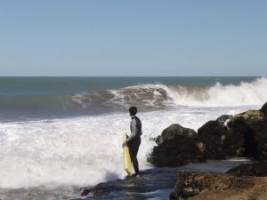Beaches to practice bodyboarding (Mar del Plata, Argentina)
