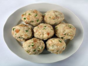 A rich meatballs