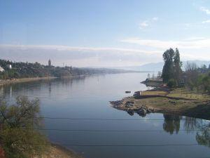 Lake San Roque (Carlos Paz, Cordoba, Argentina)