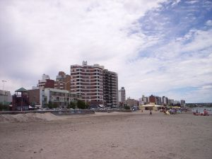 Beach in Puerto Madryn (Chubut, Argentina)
