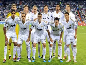 Alignment of Real Madrid (2012)