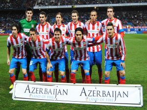 Alignment (2012) of Atlético de Madrid