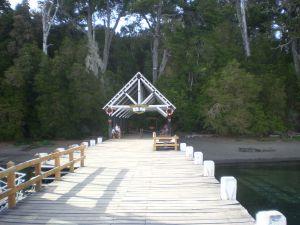 Dock at Arrayanes National Park (Neuquén, Argentina)