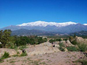Sierra de Famatina from Chilecito, La Rioja, Argentina