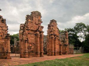 Ruins of San Ignacio Miní, in the province of Misiones, Argentina