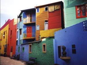 "Neighborhood of ""La Boca"", Buenos Aires, Argentina"