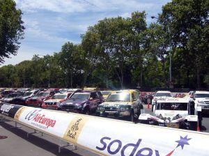 Vehicles of the Dakar Rally 2009