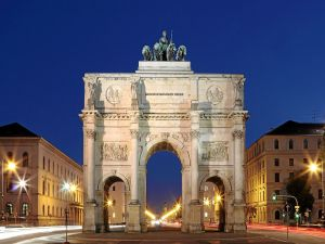 The Siegestor in Munich (Germany)