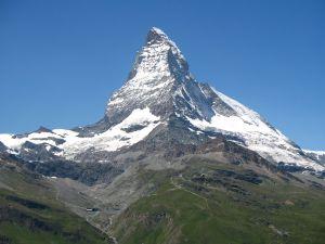 The Matterhorn seen from Gornergrat Bahn (Switzerland)
