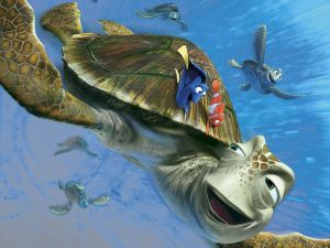 The turtle Crush (Finding Nemo)
