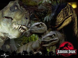 """Dinosaurs in """"Jurassic Park"""""""