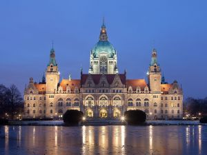 New town hall of Hannover, Germany