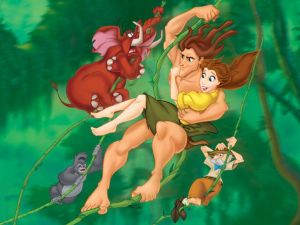 The Disney's version of Tarzan
