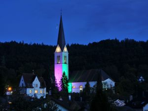 Parish Church of St. Nicholas, in Wolfurt, Austria