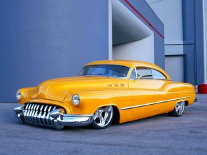 Buick sedan yellow
