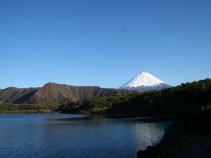 Lake near Mount Fuji
