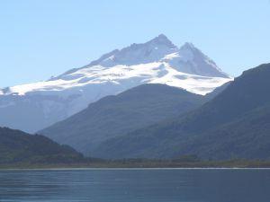 Tronador mountain from Mascardi Lake (Argentina)